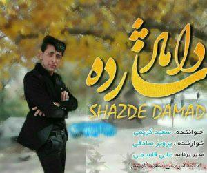 Saeed karimi shazadeh domad 300x251 - دانلود آهنگ شازده دوماد اومده از سعیدکریمی ۹۸-۹۹