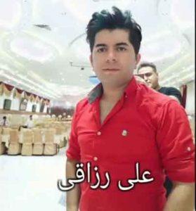 رزاقی آهنگ 2 1 279x300 - دانلود آهنگ چشمای مستت منو کرده اسیرم عزیزم از علی رزاقی